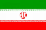Iran Large Country Flag - 3' x 2'.